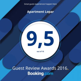 Appartements à Lopar booking 2016